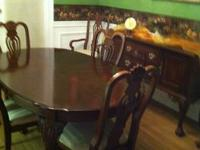 I have a very nice dining room set that seats