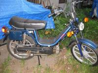 Here's working Vespa Piaggio Grande moped. Registered