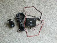 Offering a Vexilar Sonar Phone S200 fishing setup.