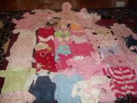 HUGE LOT OF BABY CLOTHES ALL NAME BRANDS: CARTER,