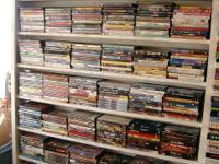 We have thousands of VHS movies for sale @ $.25 each