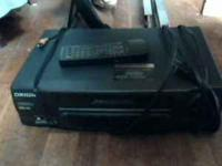 orion hifi 4 head stereo vcr with 25+ movies with