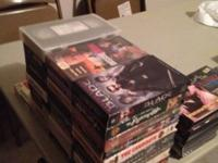 Tons of movies VHS AND DVD. Asking for $20 for all of