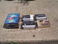 Offered for sale are these VHS-C cassettes. There are 5