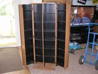 very nice vhs and cd cabinet cost new over $400.00