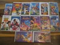 14 classic animated children's movies, sell together