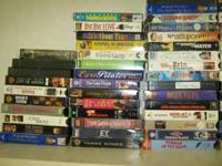 I have a collection of VHS tapes. 130 +- singles and 14