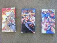 Great set. Fatal Fury Legend of the Hungry Wolf, The
