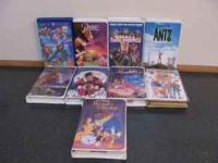 VHS Kids Movies $1.00 each Titles: Babe Small Soldiers