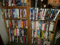 TONS OF VHS MOVIES!  .99 CENTS EACH.  LOCATED IN THE