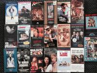 Loads of VHS Classic movies.   $1ea