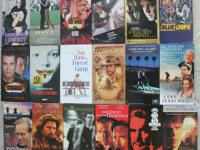 VHS Movies $1 Each #2 of 3  $1 each  Get 6 movies for