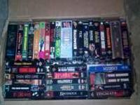 I have quite a few various vhs movies if anyone out