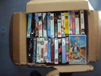 over 100 vhs movies. $50.00 for all. call  Location: