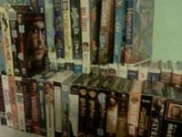 I have about 100 vhs movies that I am selling for 1 ech