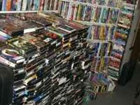 We have thousands of VHS movies. come check us out.