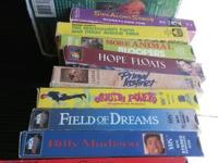 Have several VHS movies all for 15 call or text Johnny