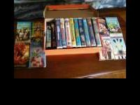 For Sale VHS movies $2 each or $20 takes all Recess