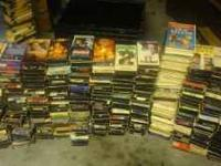 I have over 300 VHS movies.All are in original box.Good