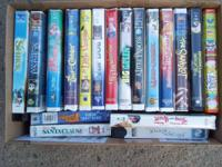 84 VHS kids movies $50.00 OBO