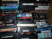 Alot Of VHS Movies for $.50 each for originals and $.10