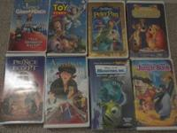 Selling 8 VHS movies. All tapes have been tested and