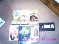 I am selling VHS Movies Beethoven, Beethoven 2,