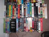 Vhs movie collection with awesome movies! and a Zenith
