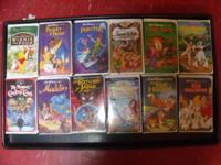 FOR SALE ARE AN ASSORTMENT OF VHS MOVIES. BROWSE THE