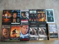 VHS Movies~ $2 each or make offer. Call  Location: