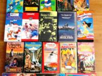 VHS Movies for children ***31 movies. ***See pictures
