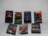 VHS movies for sale, asking $1 each, call or text  The