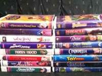 I have 16 VHS movies for sale for only $5 - for the