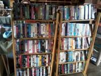 . Vhs tapes .25 cents each great selection Call Bruce