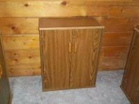 3 VHS Storage cabinets, good condition. All 3 for