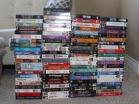 Variety of VHS Tapes - over 85 titles  If it's posted