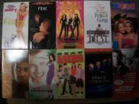 I have used VHS tapes nearly 300 titleS I am selling 10