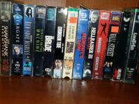 30 VHS tapes available, $.50 individual  $15.00 for VCR