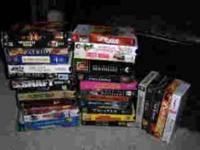 VHS tapes including: The Mummy, MI-2, Pretty Woman, The