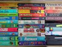 $10.00 OR Make Offer for box of 30 VHS Tapes. E-mail
