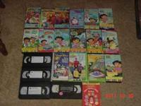 21 total. Dora and Veggie Tales. Call Paul  Location: