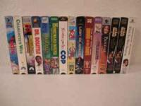 15 VHS Videos Great Condition Andre, Charlotte's Web,