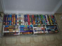 47 WALT DISNEY MOVIES PLUS 24 VHS ASSORTED CHILDREN