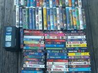 Over 100 great classic children and adult vhs movies 40