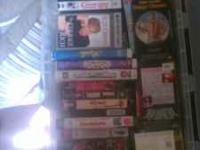 This is a bunch of VHS movies I bought as part of a