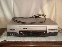 RCA VHS Player/recorder works great Will include