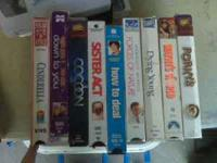 have a bunch of vhs movies some with cases some without