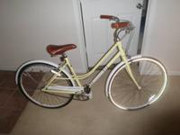 For sale is a Via women's bicycle that is made by