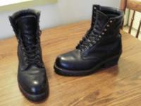 Professional grade,Vibram,Police/Military boots.Size 10