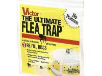 The Victor Ultimate Flea Trap Refill Discs (3-Pack) are